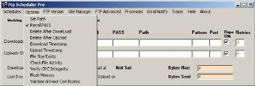 FTP Scheduling Utility supports Secure connections
